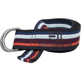 Elevenate Striped Belt Aubergine